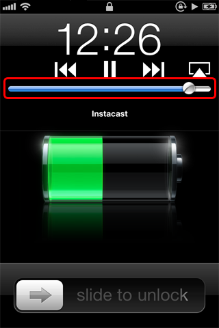 iPhone Volume Control